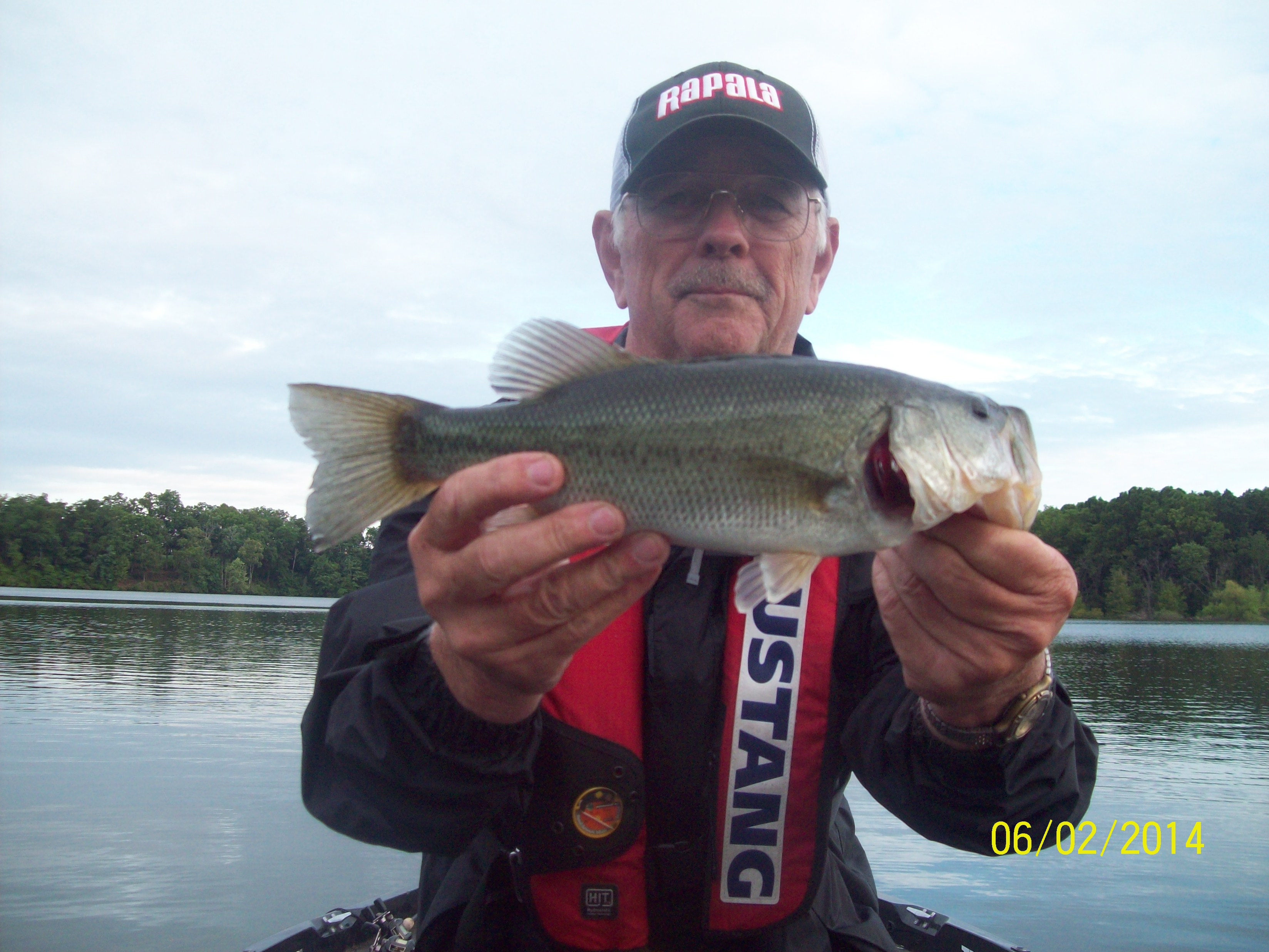 Tims ford bass for Lake hennessey fishing
