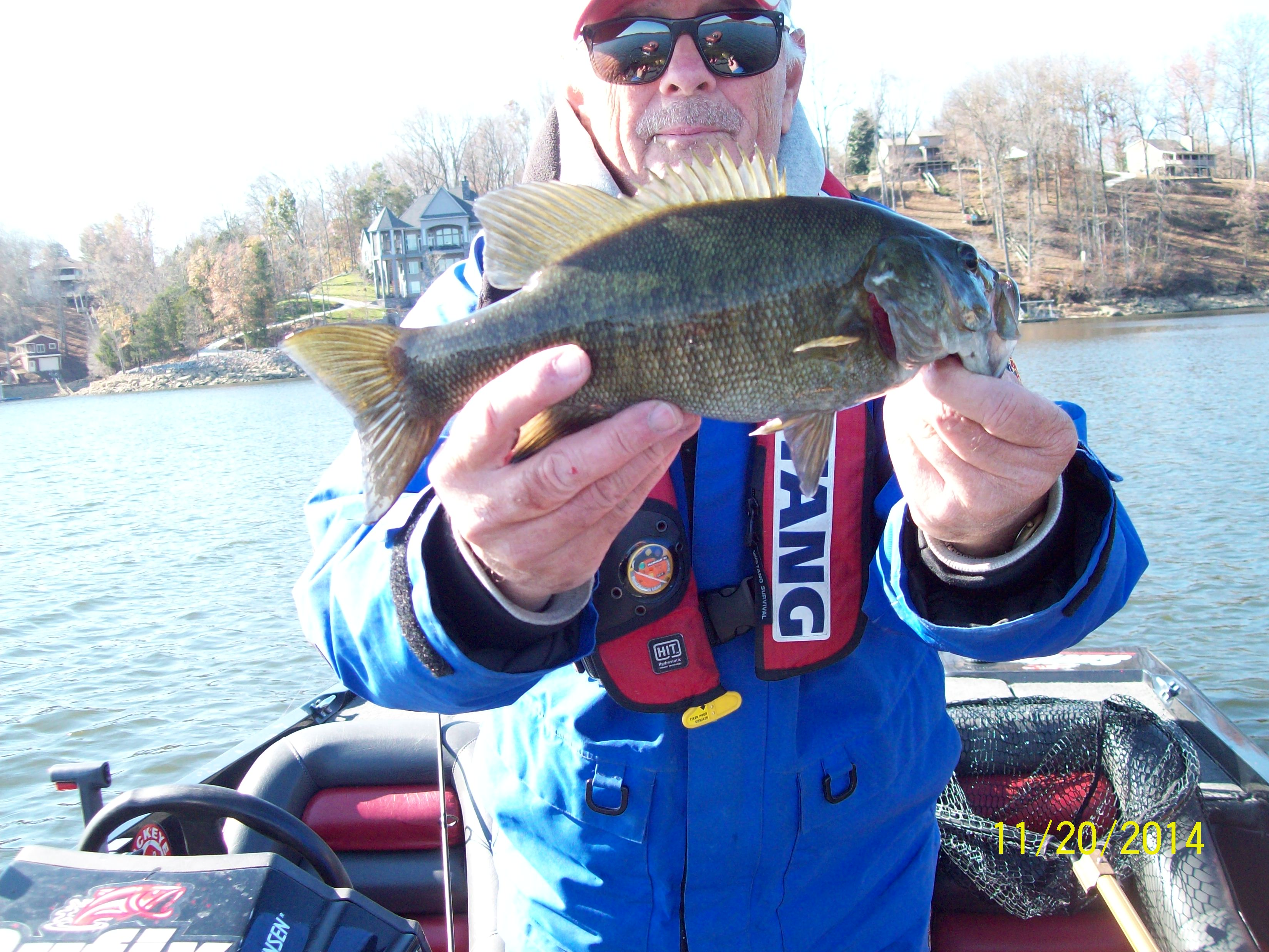 Tims ford live bait 11 20 2014 tennessee bass guides for Bass fishing with live bait