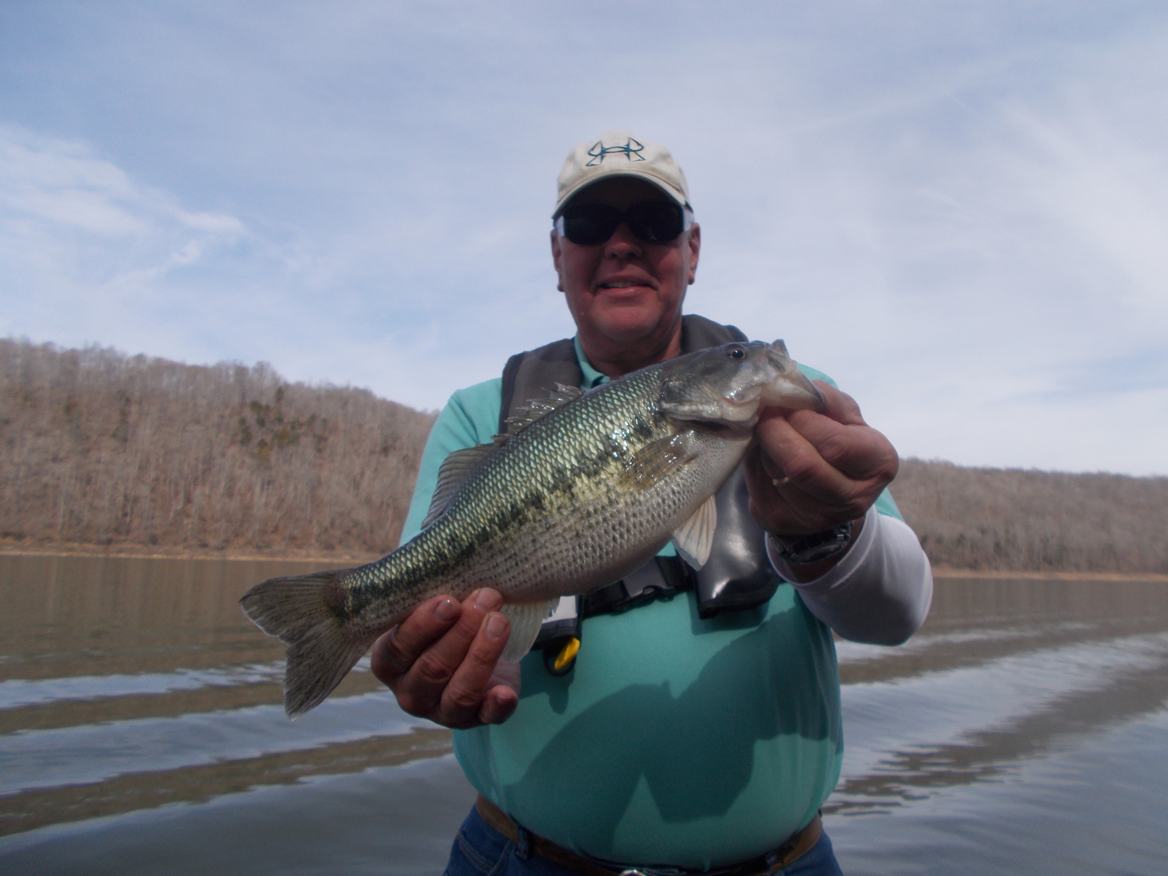 Center hill 2 20 2017 tennessee bass guides for Center hill lake fishing report